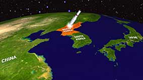 north korean satellite
